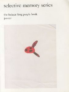 selective memory series the helmut lang purple book janvierのサムネール