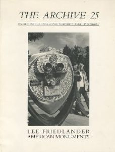 The Archive 25 Lee Friedlander American Monuments/Lee Friedlander リー・フリードランダー(/)のサムネール