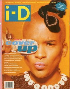 i-D magazine No.67 MARCH 1989 it's a COVER UPのサムネール