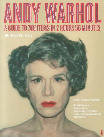 「ANDY WARHOL / A GUIDE TO 706 ITEMS IN 2 HOURS 56 MINUTES / ANDY WARHOL」メイン画像