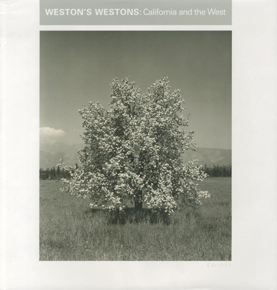 「WESTON'SWESTONS : California and the west / Edward Weston」メイン画像
