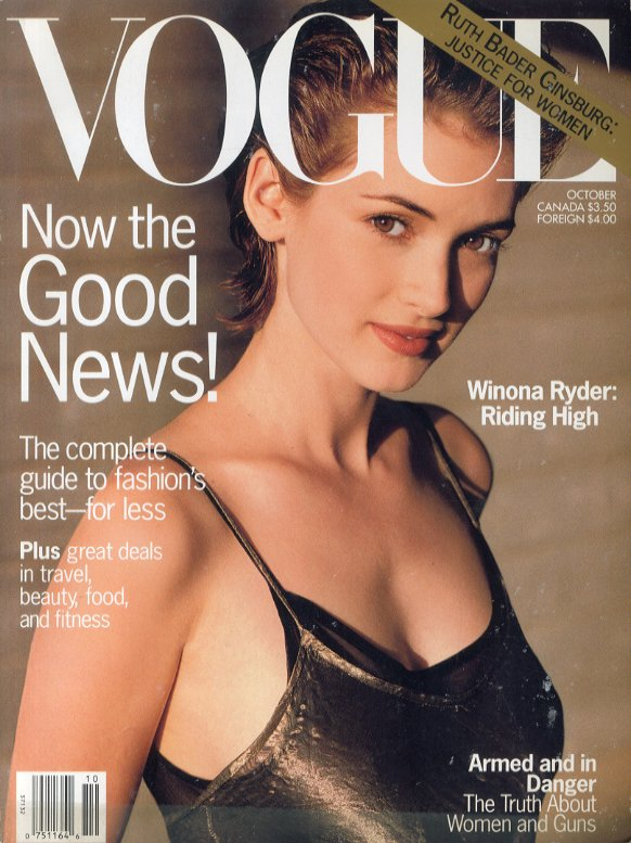 「VOGUE [US] OCTOBER 1993」メイン画像