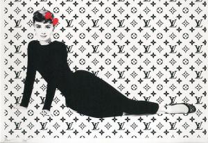 Audrey Hepburn Louis Vuitton / DEATH NYC