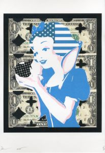 Snow White  American express No2 / DEATH NYC