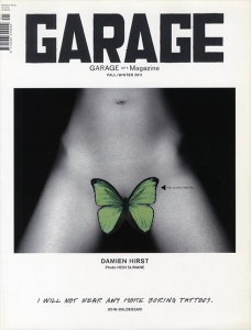 Garage No.1 Magazine Fall/Winter 2011 / Cover Photo: Hedi Slimane