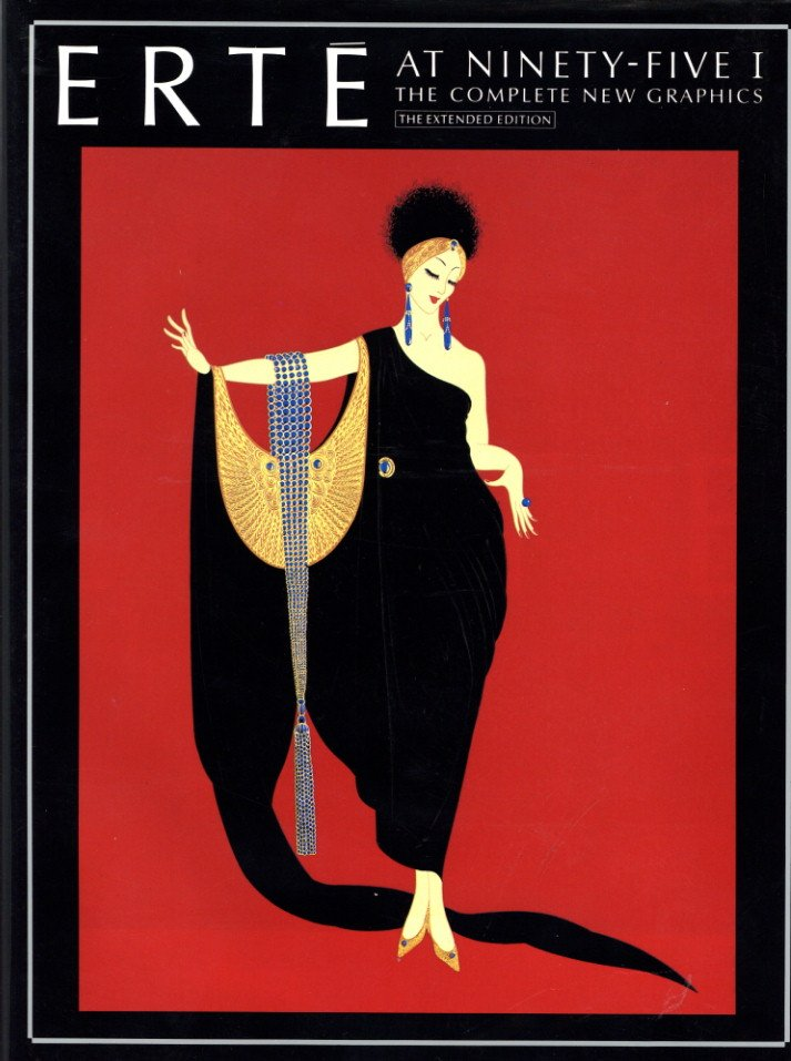 「Erte at Ninety-Five l-ll The Complete New Graphics / Author: Erte」メイン画像