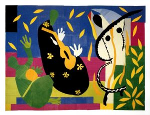 The Sorrows of the King・1952 / Henri Matisse